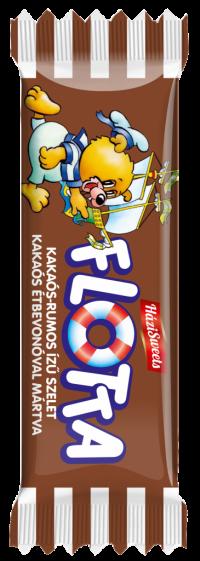 Flotta kakaós – rumos ízű szelet  25 G