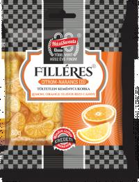 Filléres keménycukor Citrom-narancs 80 G