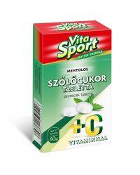 Mentolos szőlőcukor tabletta C-vitaminnal 60 G