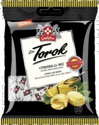 Dr. Torok Citromolaj – méz töltött keménycukorka 75 G